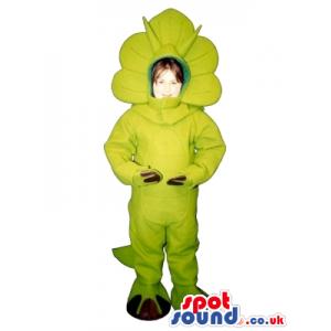 Triceratops Dinosaur Children Size Plush Costume Or Disguise -