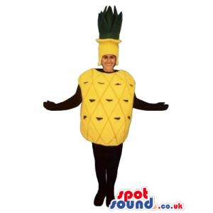 Yellow Pineapple Fruit Adult Size Costume Disguise - Custom