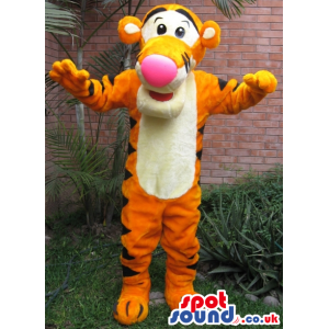 Popular Winnie It Pooh Tv Cartoon Tiger Character Plush Mascot