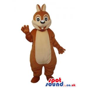 Cartoon Cute Brown Chipmunk Or Squirrel Plush Mascot - Custom