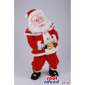 American classical santa costume swith boots and hat - Custom