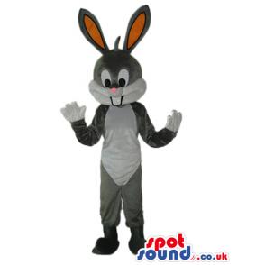 Cute Bugs Bunny Animal Cartoon Warner Bros. Character Mascot -