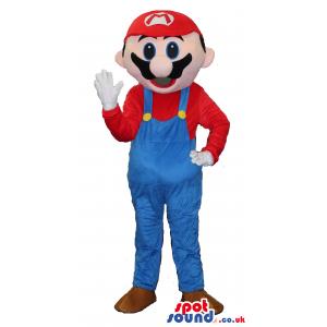 Classic Super Mario Bros. Popular Video Game Character Mascot -