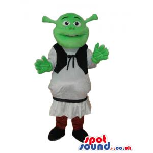Shrek The Green Ogre Popular Movie Character Flashy Mascot -