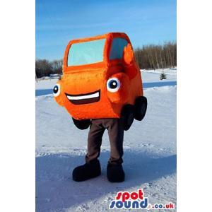 Funny Cute orange car wants to give you a big hug - Custom