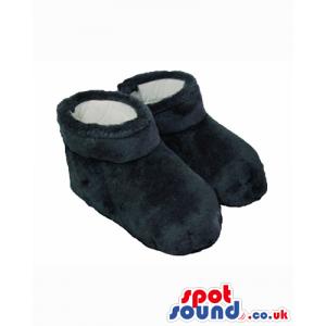 Best Quality Washable Black Plush Feet For Mascots - Custom