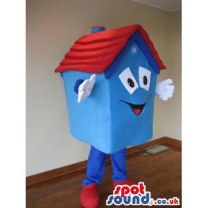 Funny Cute blue house wants to give you a big hug - Custom