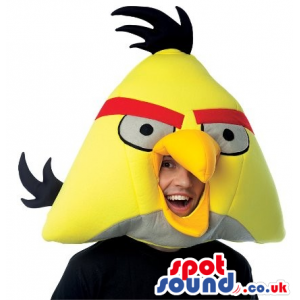 Cute Yellow Angry Birds Character Adult Size Costume. - Custom