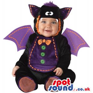 Cute Halloween Bat Baby Child Size Costume Disguise - Custom