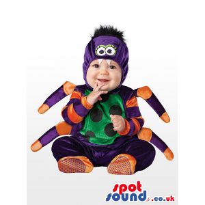Cute Halloween Spider Baby Child Size Costume Disguise - Custom