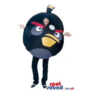 Cute Black Angry Birds Character Adult Size Costume. - Custom