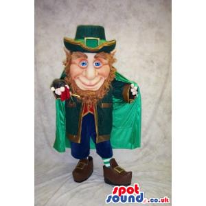 Leprechaun Irish Character Mascot For St. Patrick'S Day -