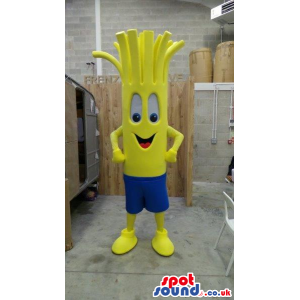 Yellow Fantasy Vegetable Plush Mascot With A Cute Face - Custom