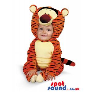 Funny Winnie The Pooh Tiger Plush Baby Size Costume - Custom
