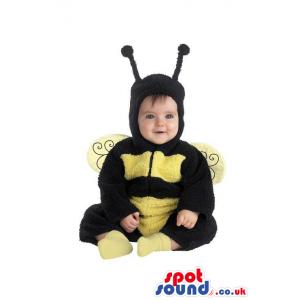 Funny And Cute Bee Plush Halloween Baby Size Costume - Custom