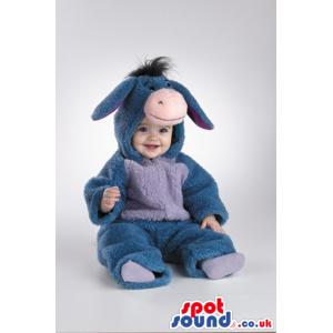 Funny Winnie The Pooh Donkey Plush Baby Size Costume - Custom