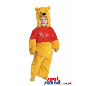 Funny Winnie The Pooh Bear Plush Baby Size Costume - Custom