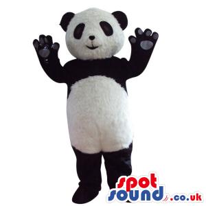 Customizable Baby Cute Panda Bear Plush Animal Mascot - Custom