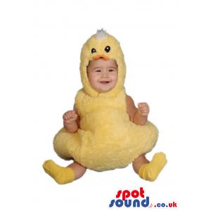 Cute Yellow Duck Bird Plush Baby Size Funny Costume - Custom