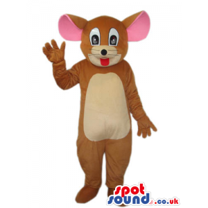 Popular Tom And Jerry Cartoon Mouse Character Plush Mascot -
