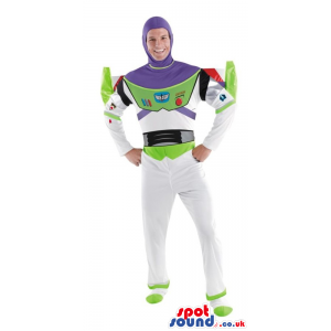 Big Buzz Astronaut Toy Story Character Adult Size Costume -