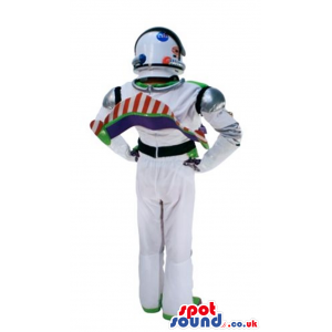Buzz Astronaut Toy Story Adult Size Costume With Helmet -