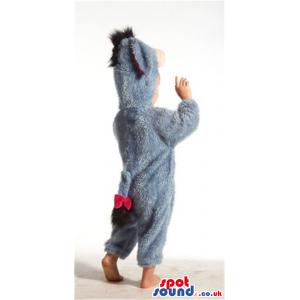 Cute Winnie The Pooh Donkey Baby Size Funny Costume - Custom