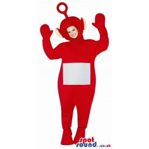 Red Teletubbies Plush Mascot Or Adult Size Costume - Custom