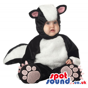 Very Cute Skunk Forest Animal Baby Size Plush Costume - Custom