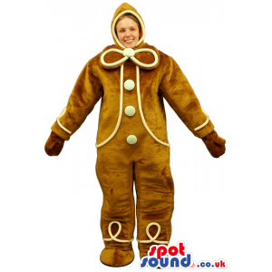 Cool Ginger-Bread Man Adult Size Costume Or Mascot - Custom