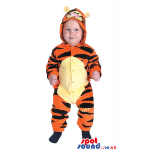 Cute Winnie The Pooh Tiger Character Baby Size Costume - Custom