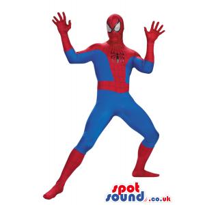 Super Cool Spiderman Character Adult Size Costume - Custom