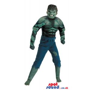 Fantastic Scary Hulk Character Adult Size Costume - Custom
