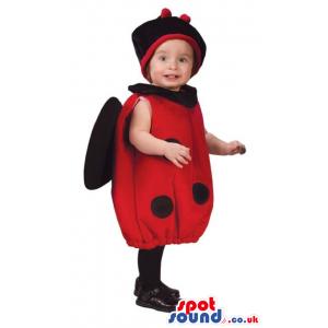 Cute Halloween Garden Ladybird Baby Size Plush Costume - Custom