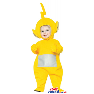 Very Cute Yellow Teletubbies Character Baby Size Plush Costume
