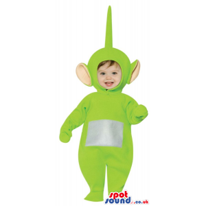 Very Cute Green Teletubbies Character Baby Size Plush Costume -