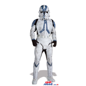 Realistic Trooper Star Wars Character Adult Size Costume -