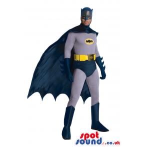 Batman Marvel Cartoon Character Adult Size Costume - Custom