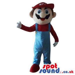 Popular Mario Bros. Video Game Character Plush Mascot - Custom
