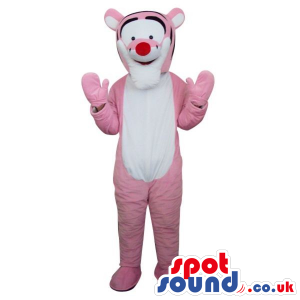 Popular Tiger Winnie The Pooh Character Plush Mascot In Pink -