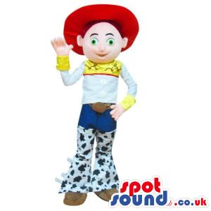 Cute Popular Cowgirl Toy Story Character Plush Mascot - Custom