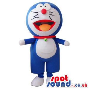 Popular Doraemon Cartoon Character Cosmic Cat Plush Mascot -