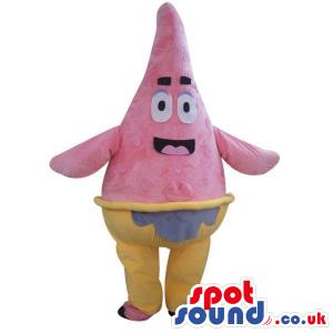 Sponge Bob Square Pants Starfish Cartoon Character Plush Mascot