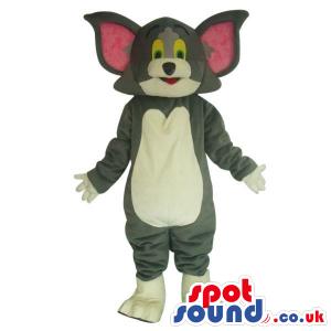Popular Tom And Jerry Alike Cartoon Character Cat Plush Mascot