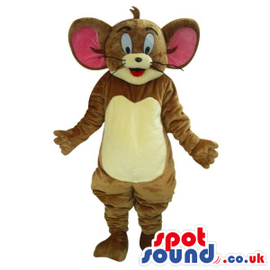 Popular Tom And Jerry Alike Cartoon Character Mouse Plush
