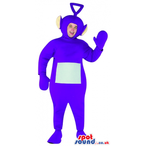 Blue Teletubbies Character Adult Size Plush Costume Or Mascot -
