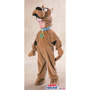 Cute Scooby-Doo Cartoon Character Dog Children Size Costume -