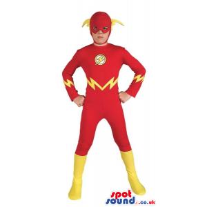 Cute Flash Gordon Super Hero Character Children Size Costume -