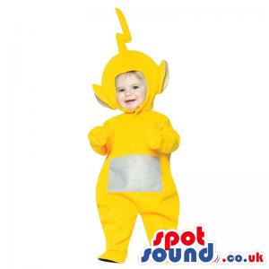 Yellow Teletubbies Character Baby Size Plush Costume - Custom