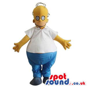 Homer Simpson Popular Cartoon Character Big Mascot - Custom
